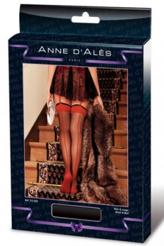 Anne d'Ales Flora Stockings, красные